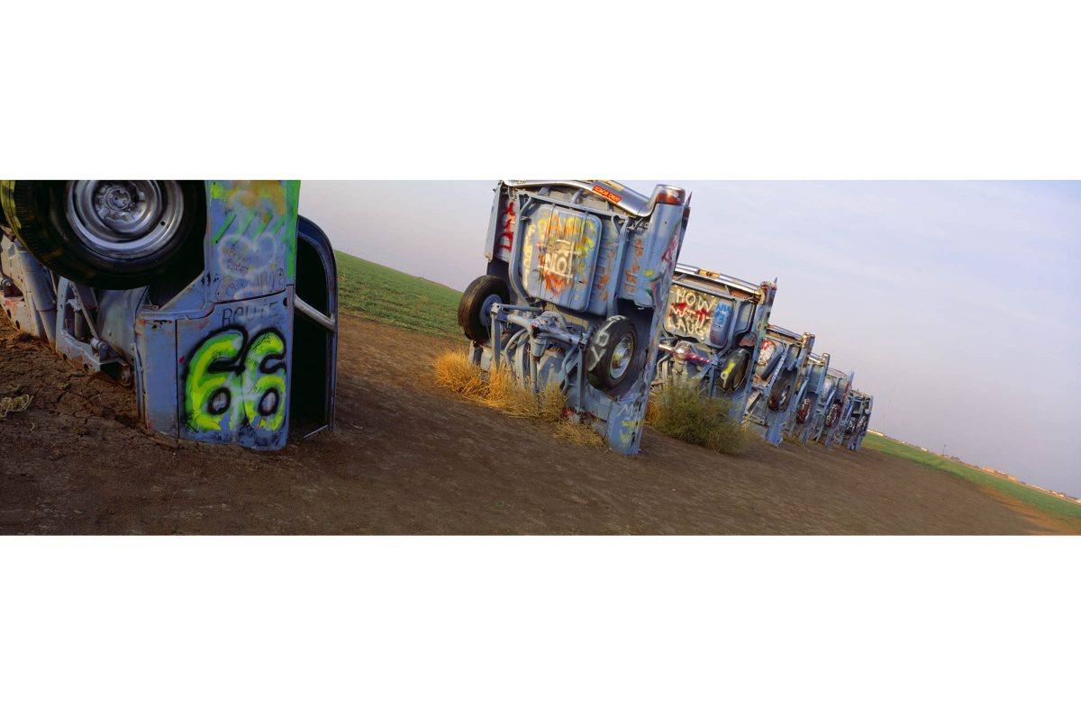 Cadillac Ranch, Route 66, Texas