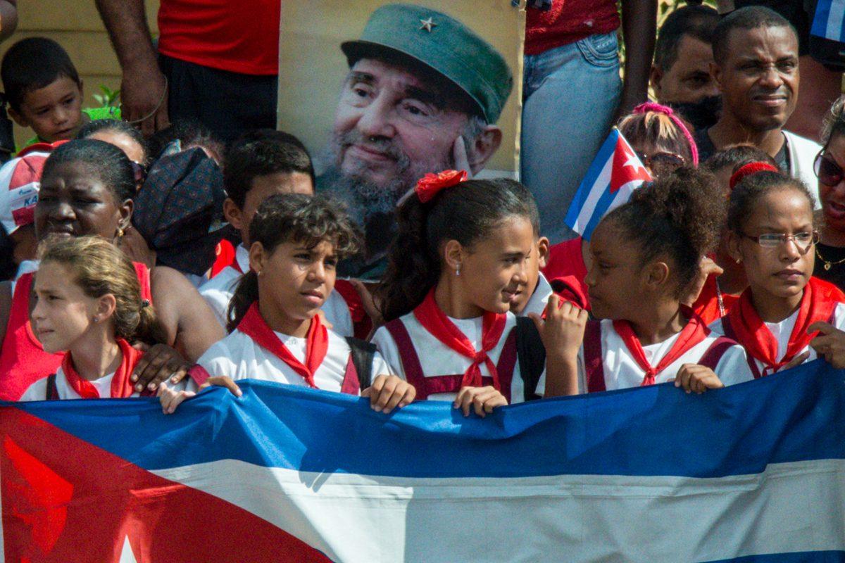 Procession for Fidel, Santiago de Cuba