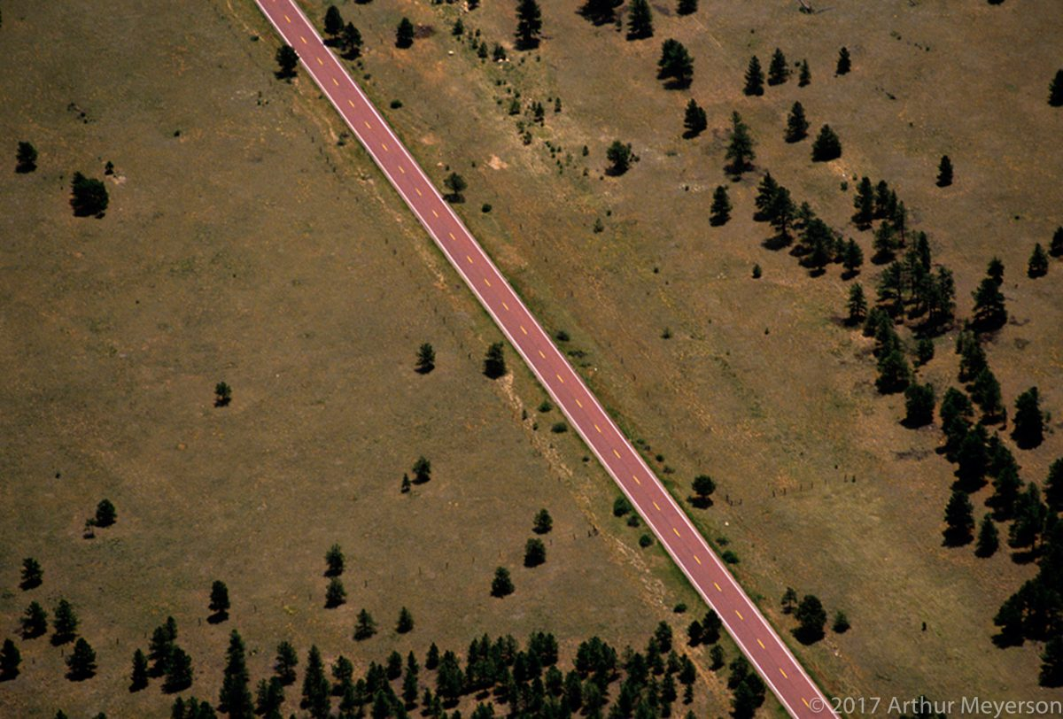 Road Aerial, Colorado