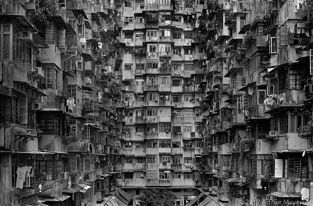 Tenements, Hong Kong (MFAH)
