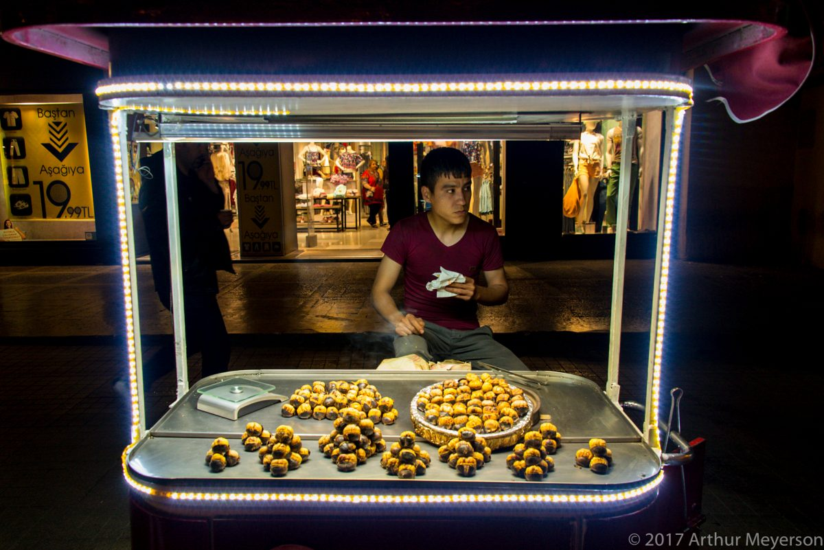 Chestnuts, Istanbul