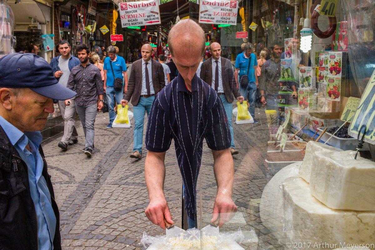 Market Reflection, Istanbul