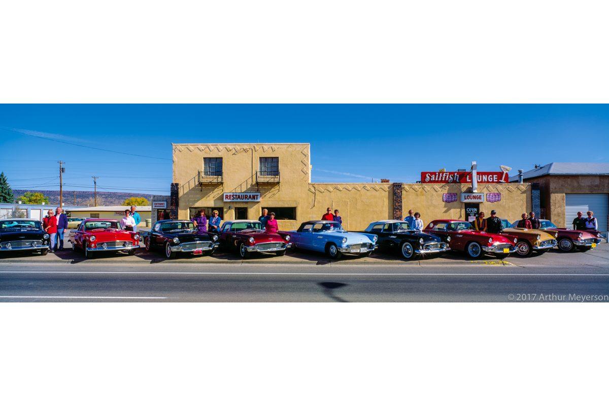 T-Bird Club, Route 66, New Mexico