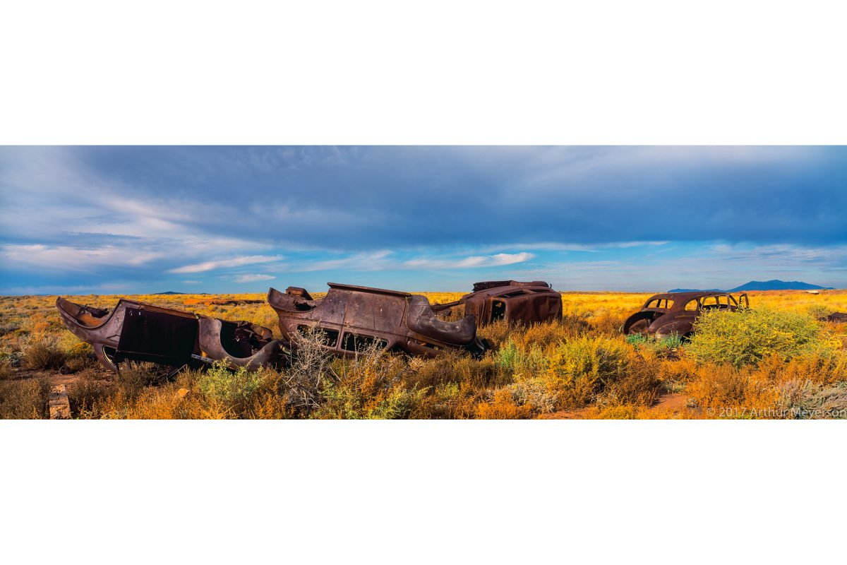 Abandoned Cars, Route 66, New Mexico