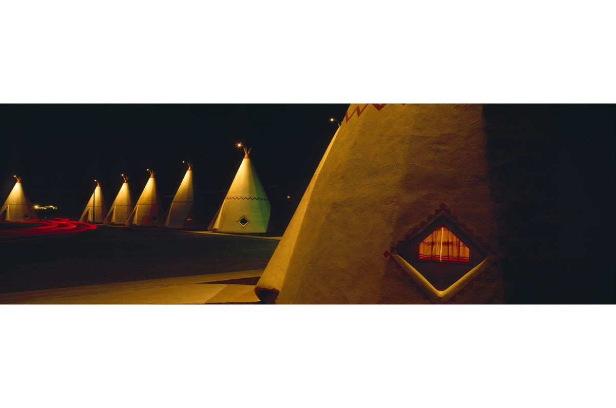 Teepee Motel, Rote 66, Arizona