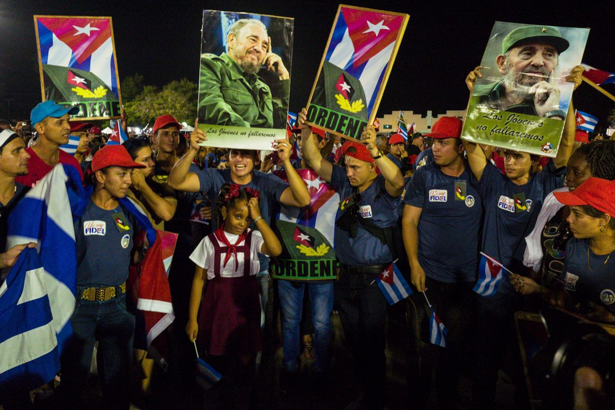 Honoring Fidel, Santiago de Cuba