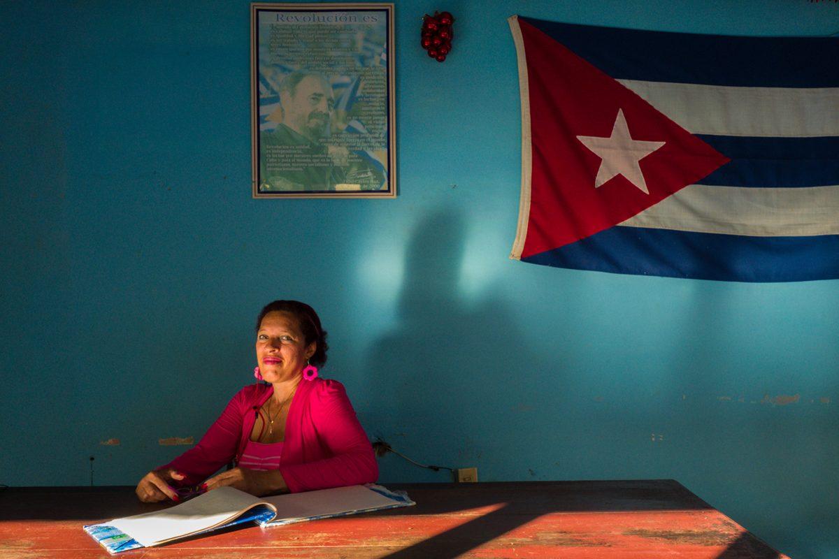 Office Worker, Camagüey