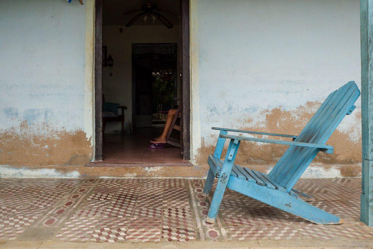Leg and Chair, Granma