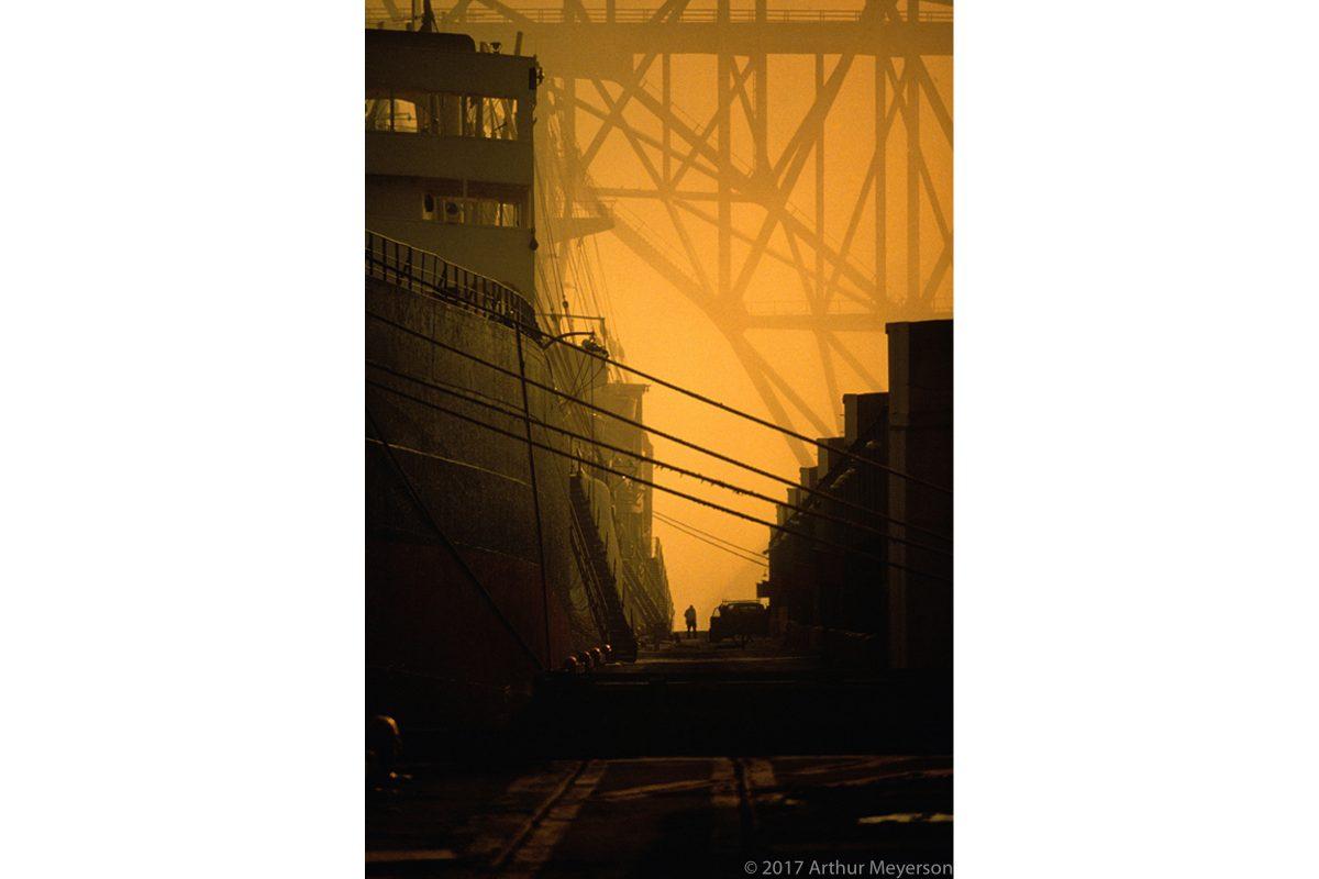 Ship & Bridge, Texas