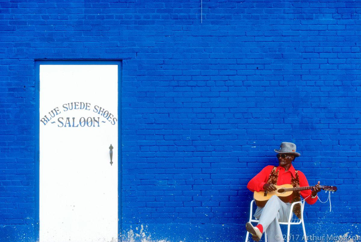 Blue Suede Shoes Saloon, Memphis, 1989