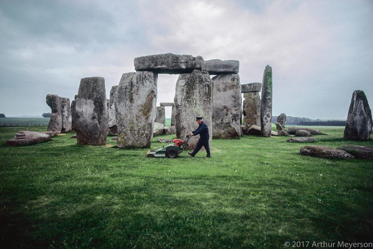 Stonehenge, England, 1980 (MFAH Collection)