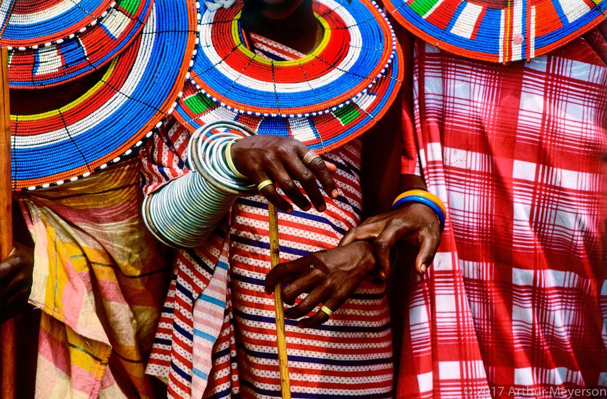 Masai Necklaces, Tanzania, 1992