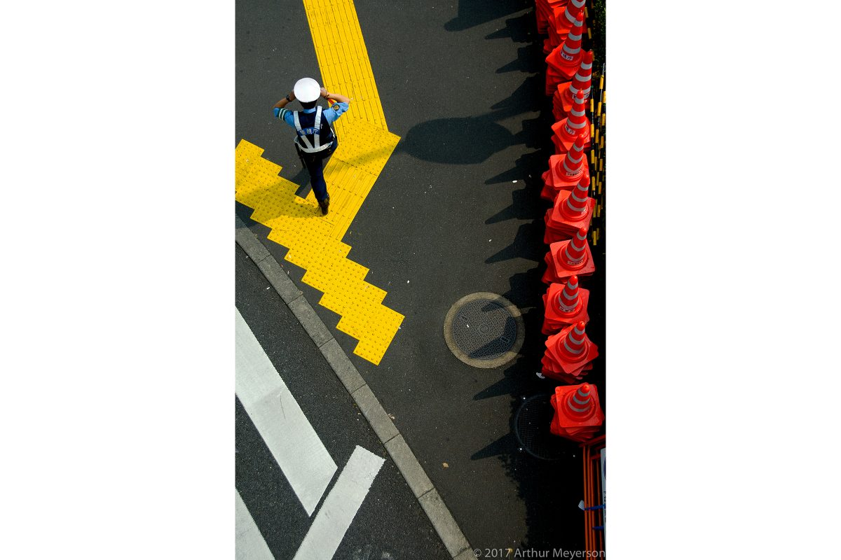 Pedestrian Crossing, Tokyo, 2007