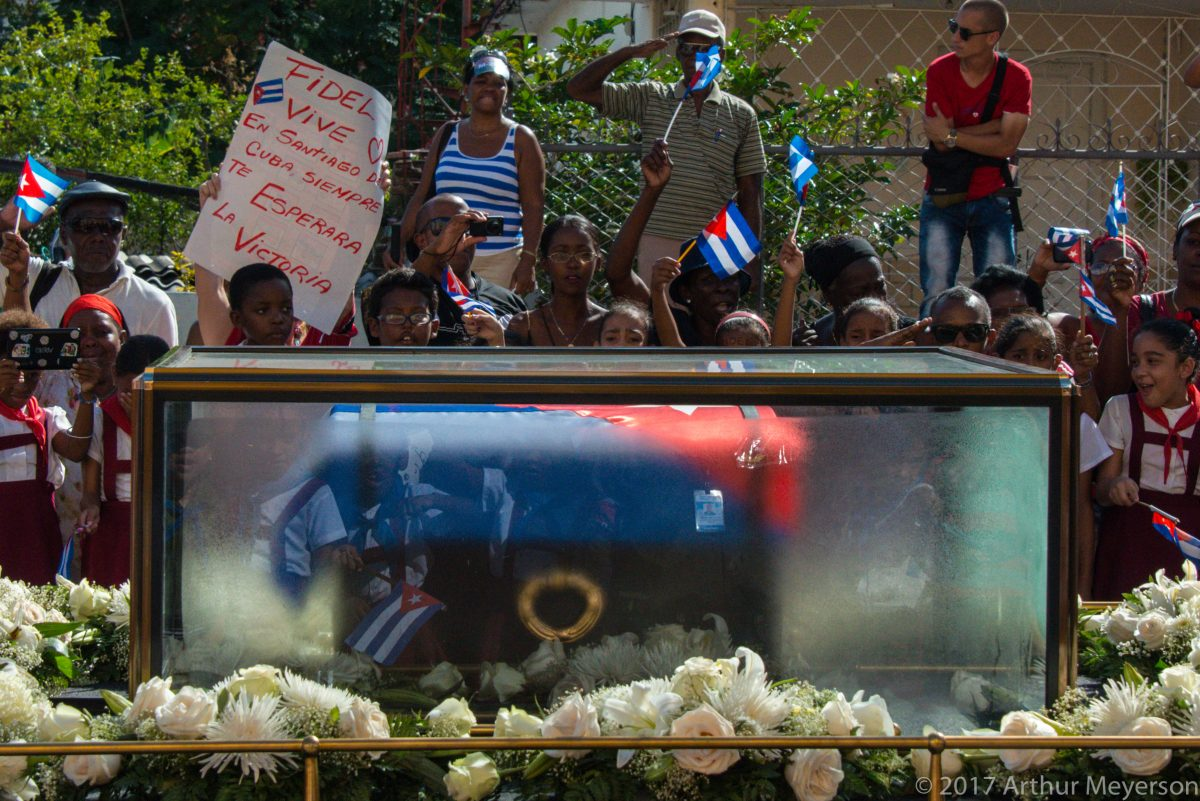 Saluting Fidel