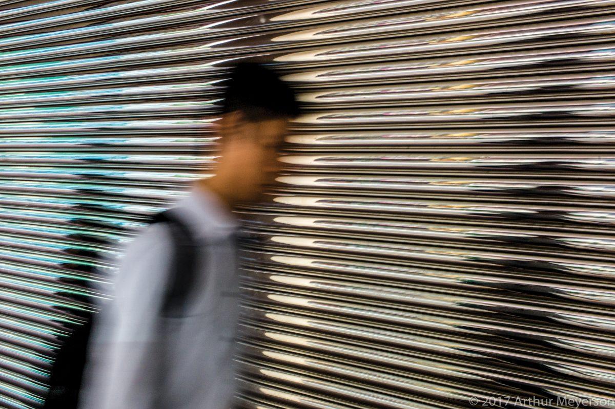 Blurred Man