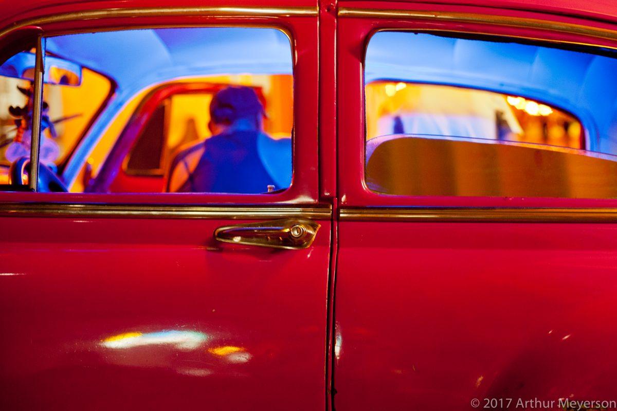 Red Car, Havana, 2012 (MFAH Collection)