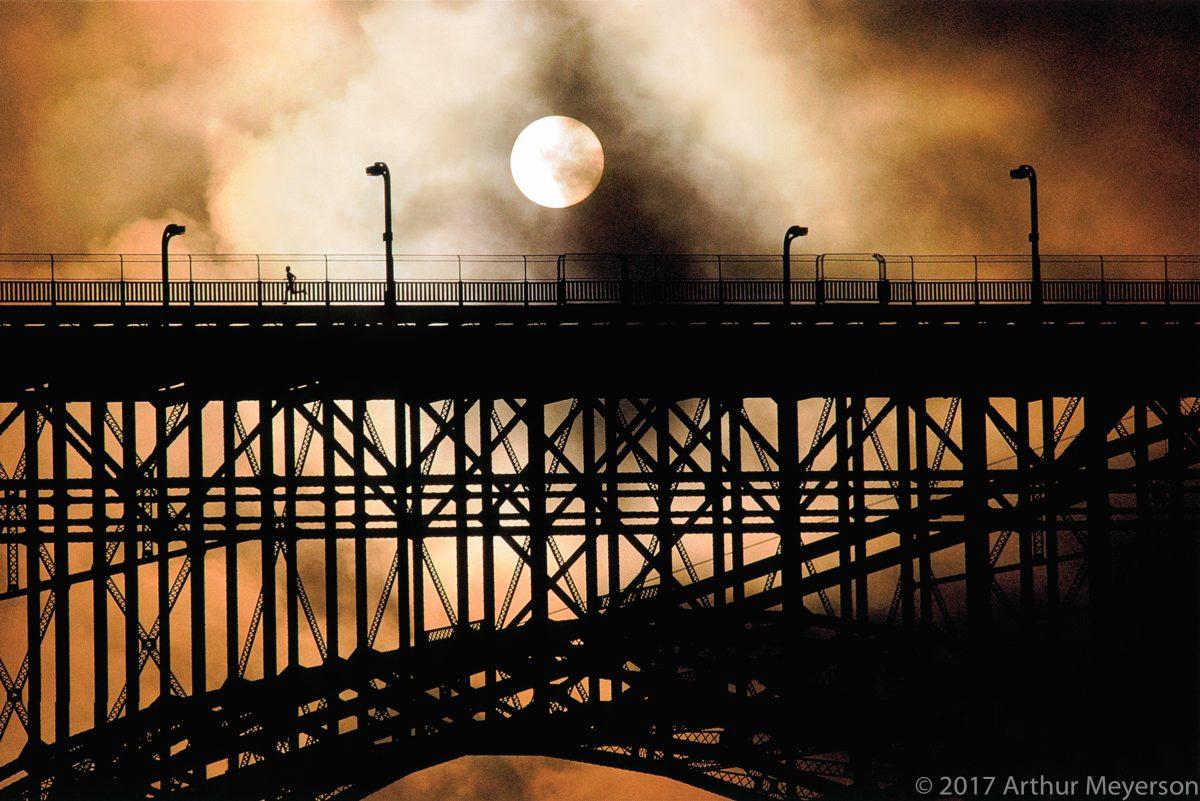 Runner and Bridge, San Francisco, 1989