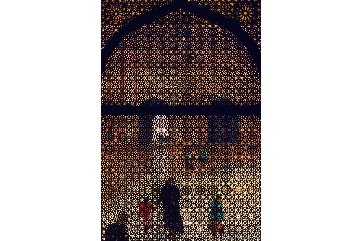Window India, 1993 (MFAH Collection)