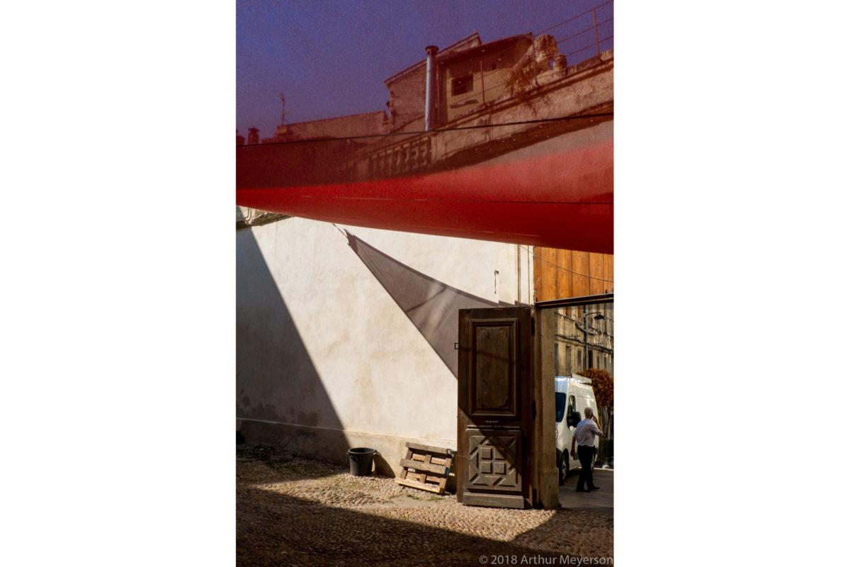Courtyard, Avignon