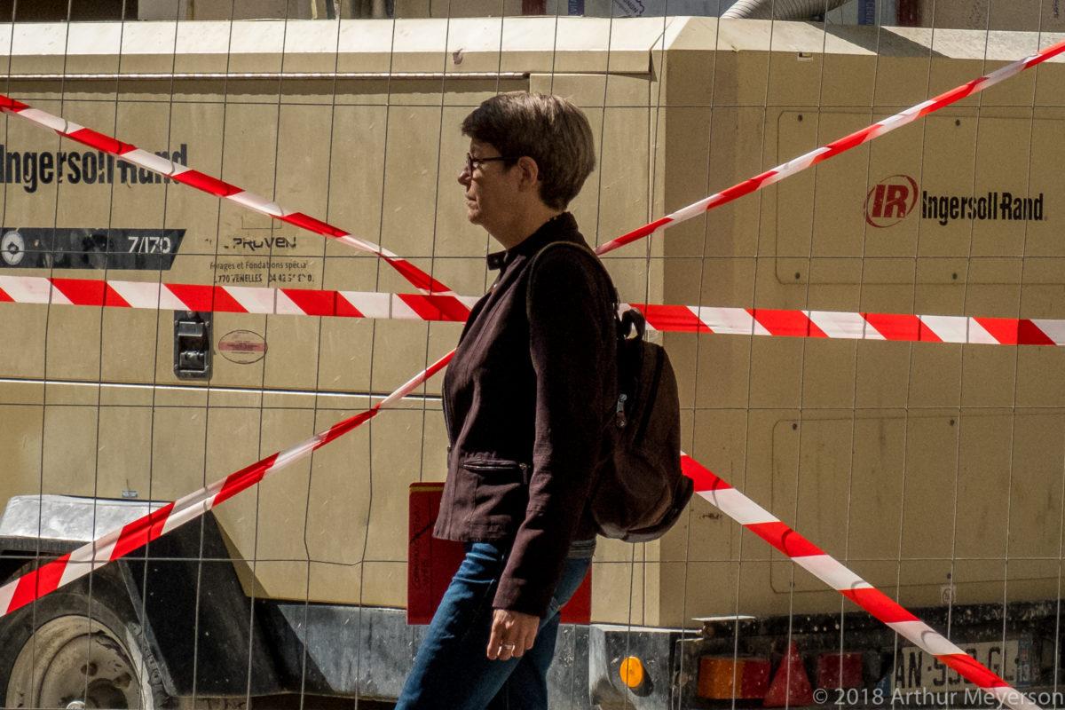 Construction Barricade, Avignon