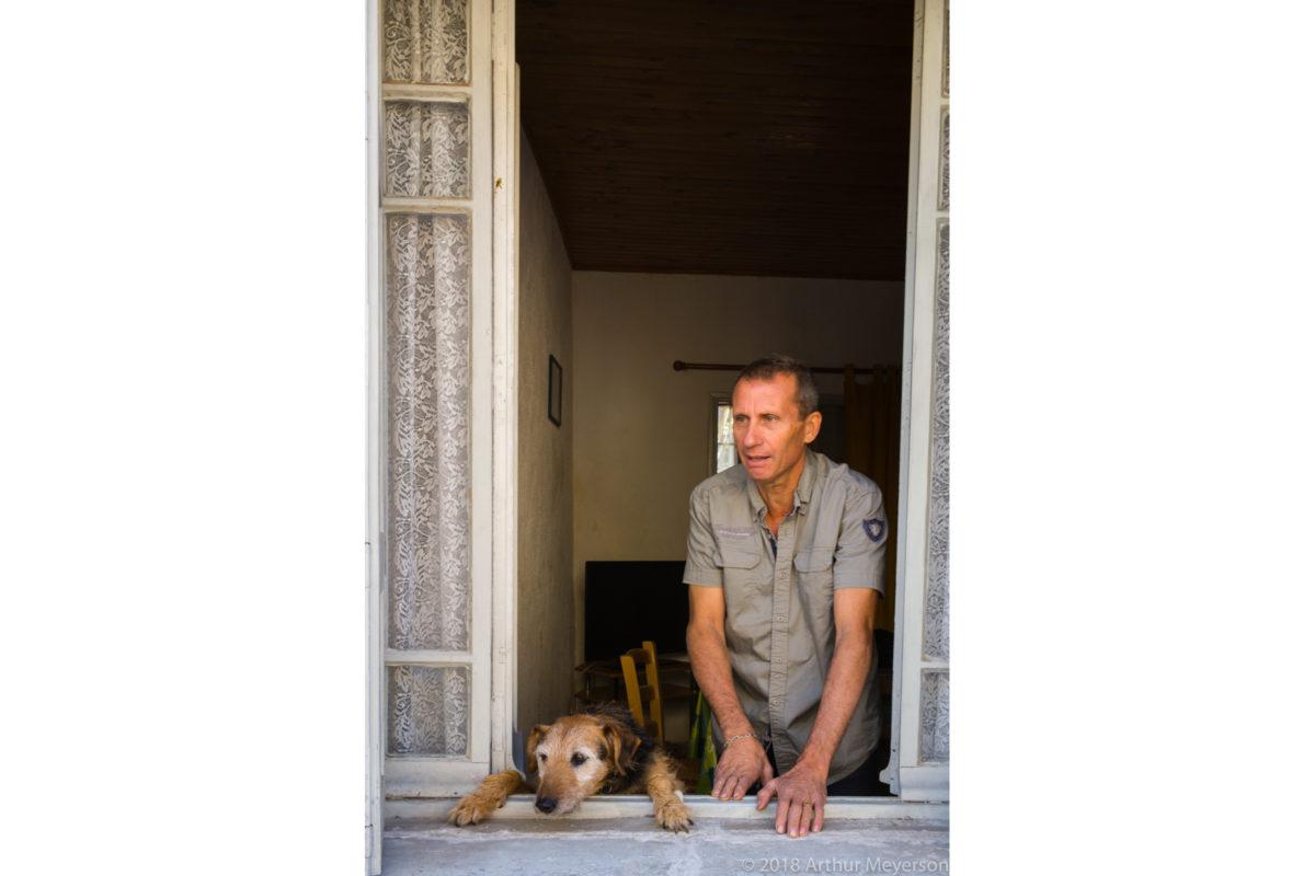 Man & Dog, St. Remy de Provence
