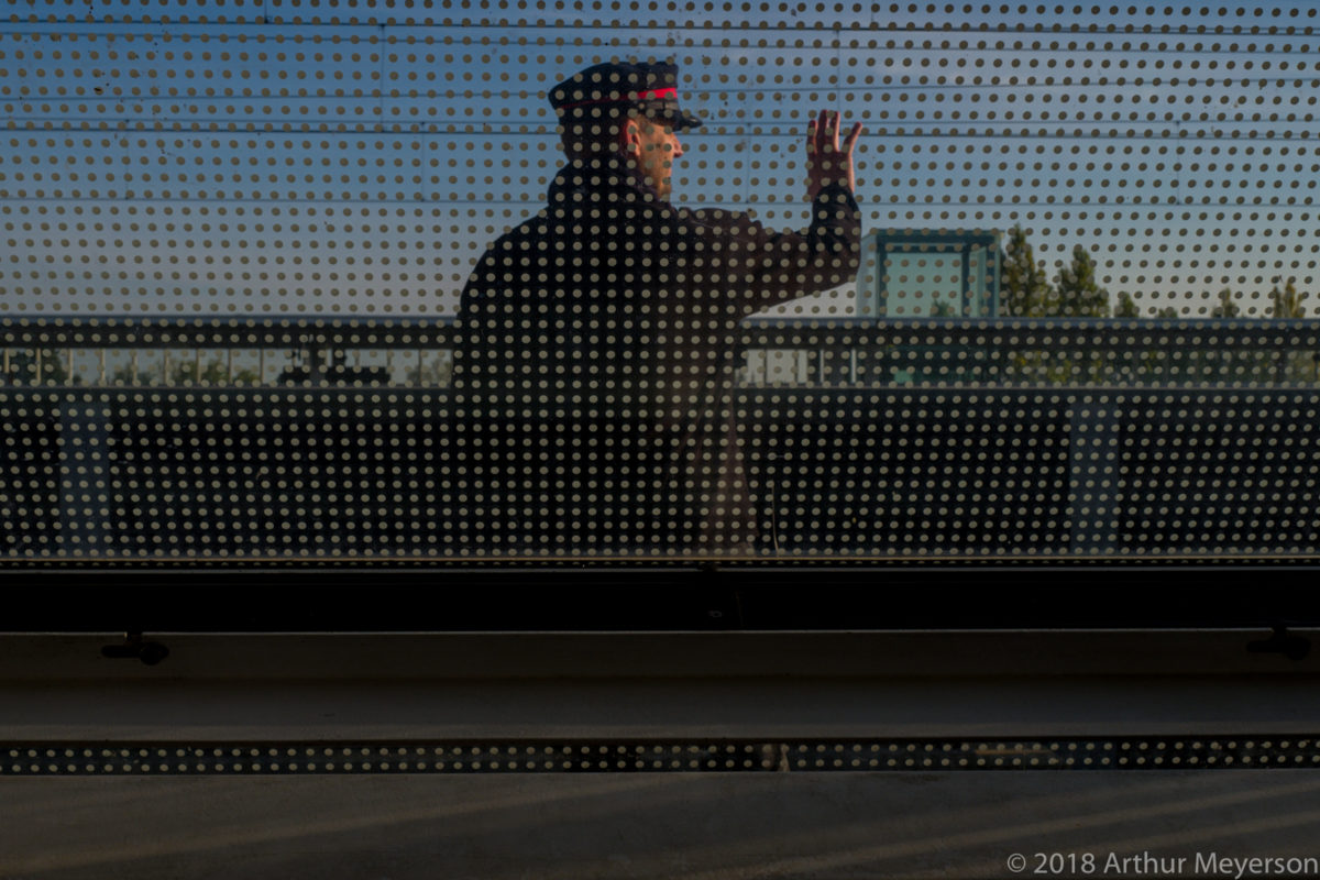 Train Station Conductor, Avignon