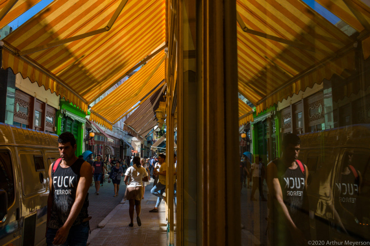 Street & Canopy Reflection