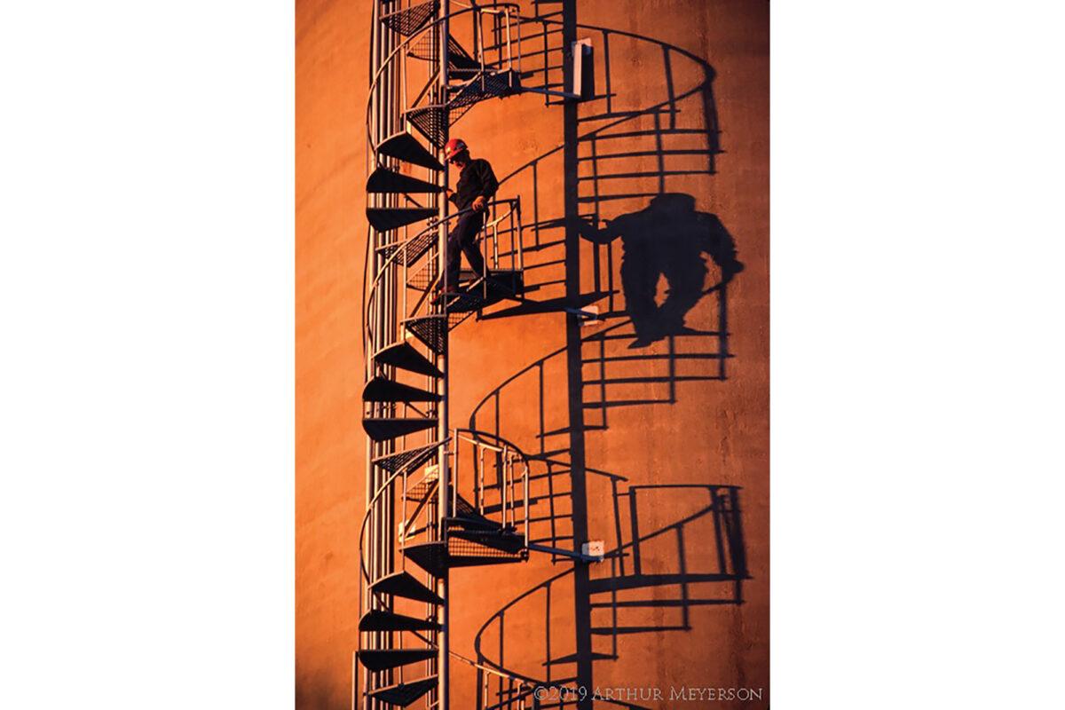 Spiral Stairway, Minneapolis, 1981